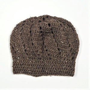 Tweed Lacy Slouch Hat - ON SALE!