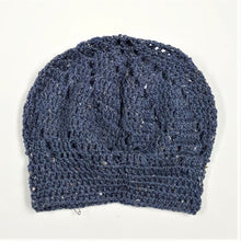 Load image into Gallery viewer, Tweed Lacy Slouch Hat - ON SALE!