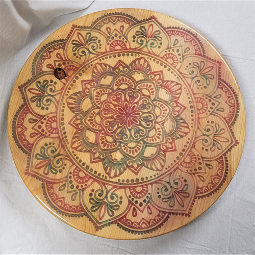 Mandala Lazy Susan - NEW!