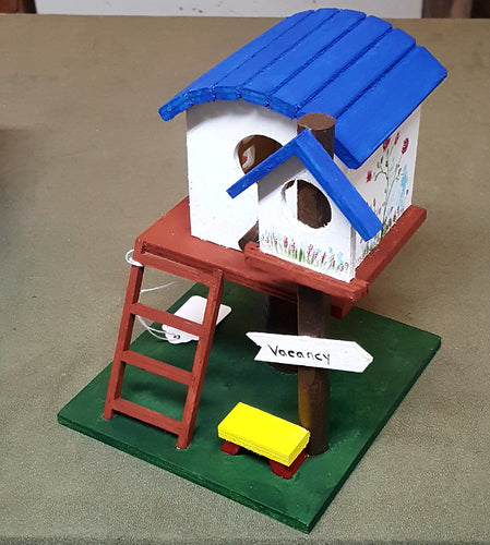 Painted Birdhouses - BLIZZARD OF SAVINGS!
