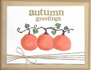 Greeting Cards, Autumn