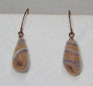 Felted Earrings - CLEARANCE