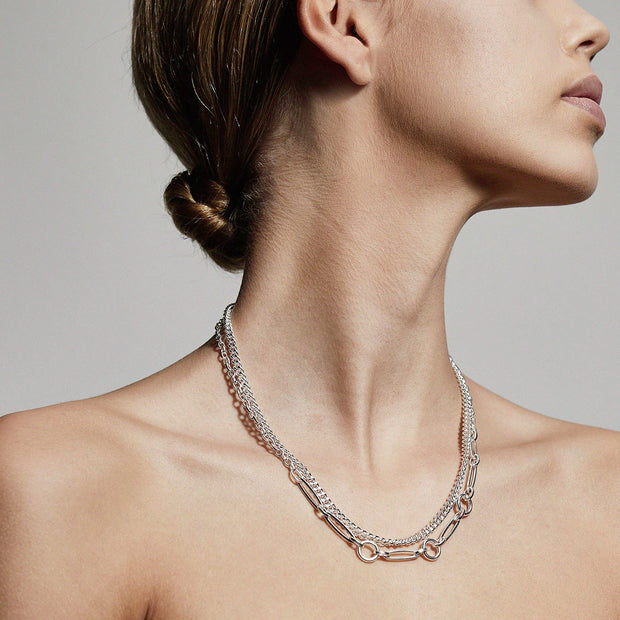 PILGRIM Sensitivity 2-in-1 Chain Necklace