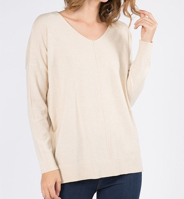 DREAMERS Ultra-Soft V-Neck Sweater