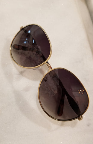 27 Oversized Oval Sunglasses