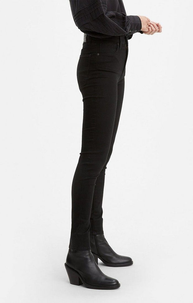 LEVI'S Mile High Super Skinny Black Celestial