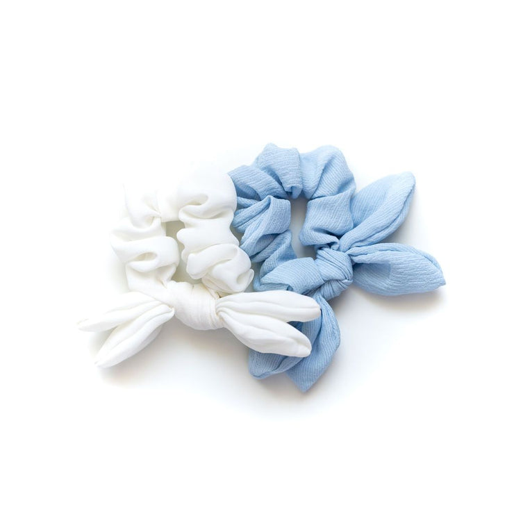 KASH & CO Bow Scrunchie Set