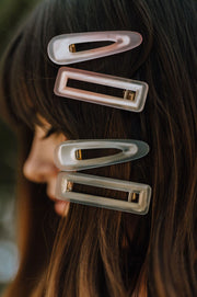 KASH & CO Ombré Clip Set