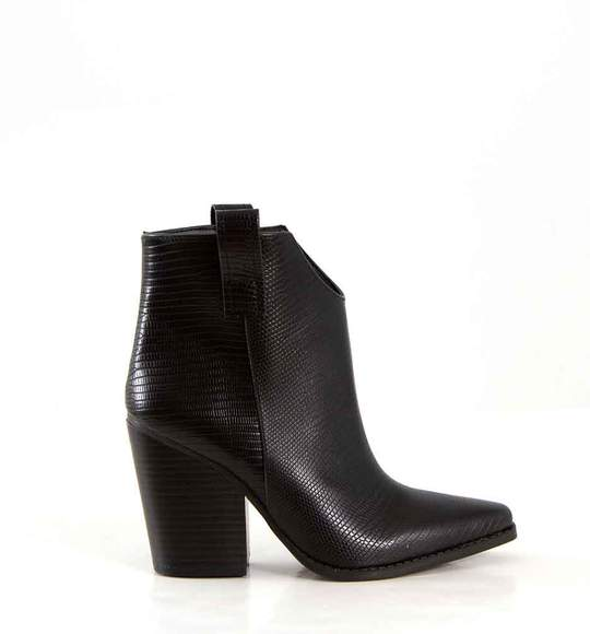 27 Kacey Western Heeled Booties