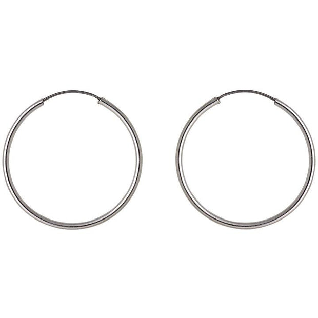 PILGRIM Small Sanne Hoop Earrings
