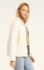 Z SUPPLY Maya Quilted Jacket