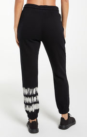 Z SUPPLY Selene Stripe Tie Dye Jogger