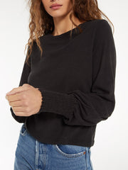 Z SUPPLY Lyla Slub Long Sleeve Tee