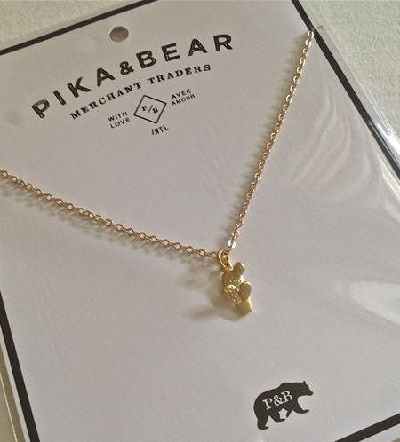 PIKA & BEAR Potted Cactus Necklace