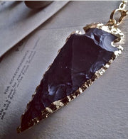 PIKA & BEAR Caldera Arrowhead Necklace
