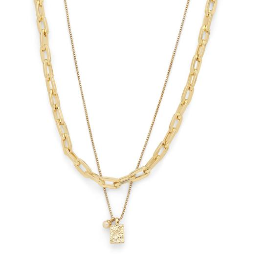 PILGRIM Hana Chain 2-in-1 Necklace