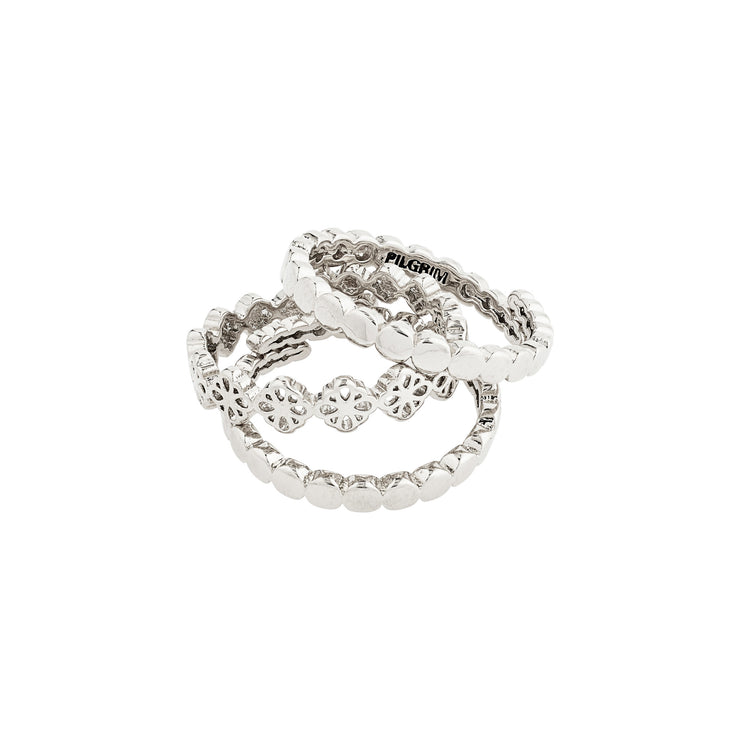 PILGRIM Cherished 3-in-1 Ring Set