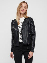 VERO MODA Ria Faux Leather Jacket
