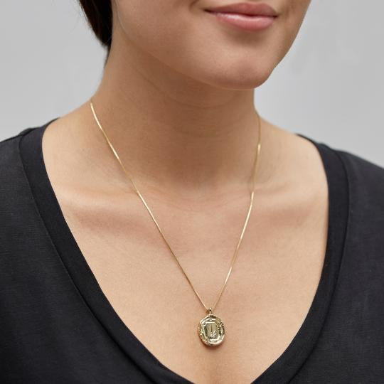 PILGRIM Feelings of L.A. Coin Necklace