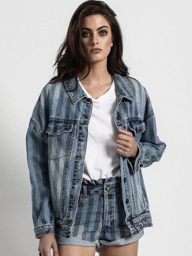 ONETEASPOON Denim Trucker Jacket