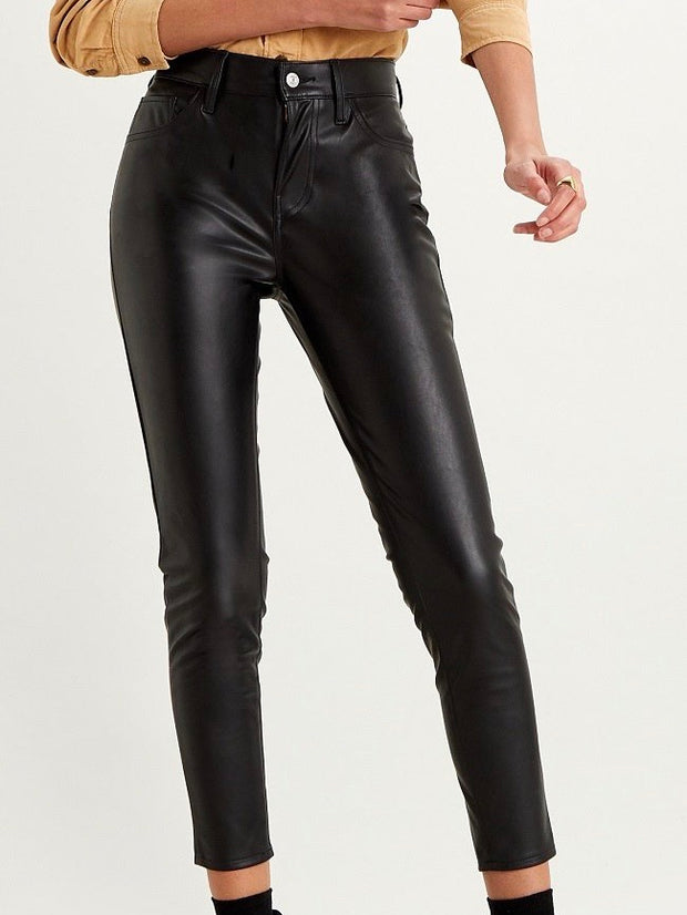 LEVI'S 720 Faux Leather Ankle Pant