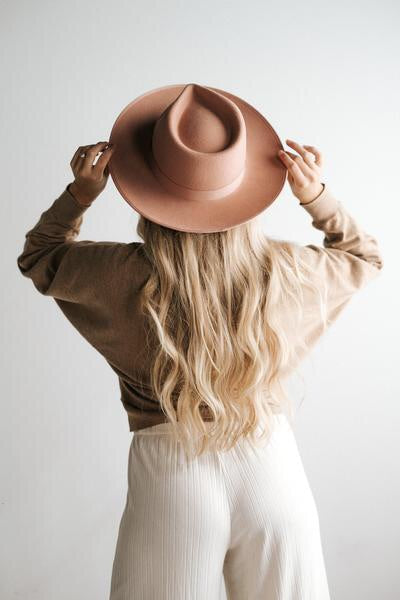 GIGI PIP Monroe Rancher Hat - Dusty Pink