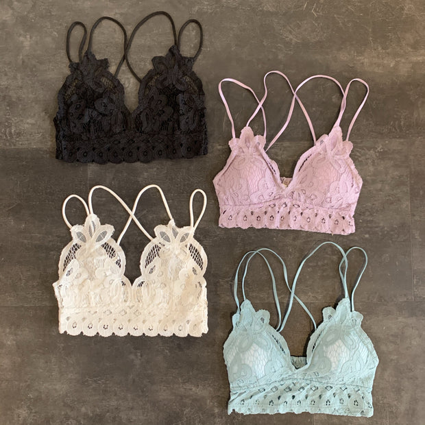 TWENTYSEVEN the label Lace Bralette