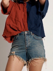 ONETEASPOON Bonita High Waist Denim Short