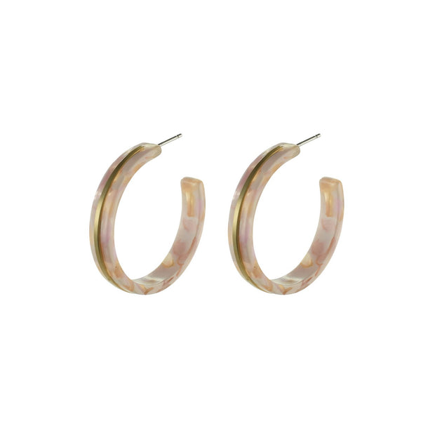 PILGRIM Selma Hoop Earrings