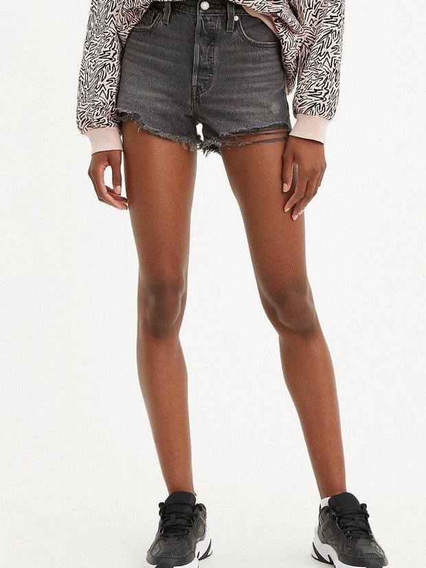 LEVI'S 501 High Rise Shorts Eat Your Words