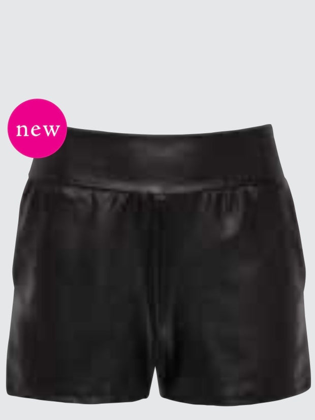 COMMANDO Faux Leather Jet-Set Short