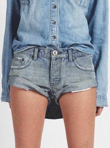 ONETEASPOON Blue Storm Bandits Shorts