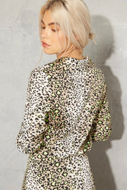 NEVER FULLY DRESSED Highlight Leopard Chester Shirt