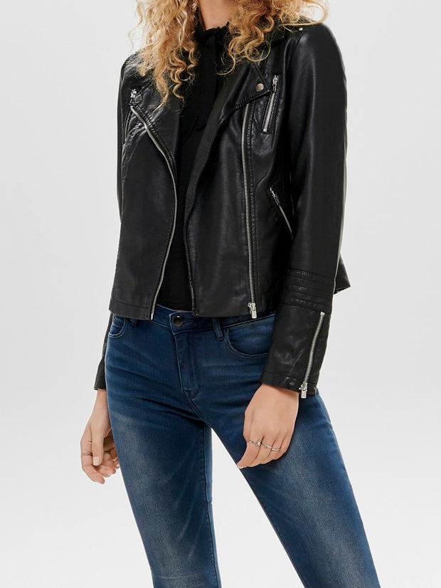 ONLY Gianna Faux Leather Jacket