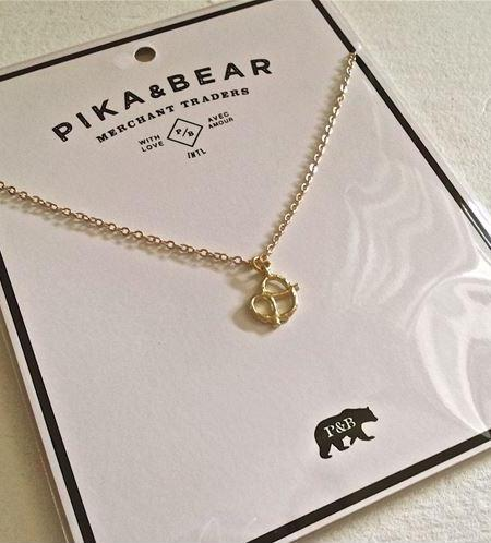 PIKA & BEAR Pretzel Necklace