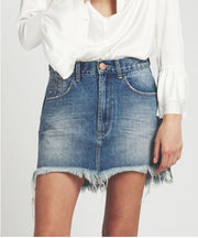ONE TEASPOON Pacifica Mid Rise Vanguard Mini Skirt