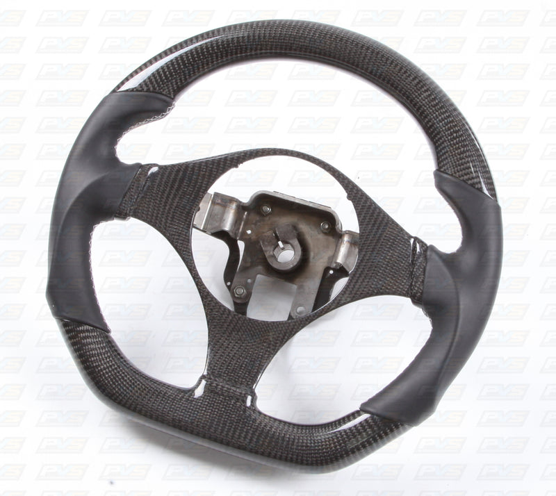 Carbon Leather Steering Wheel to Suit Mitsubishi Evolution 7-9