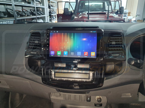 9 inch Multimedia Headunit to suit Toyota Hilux N70 2005-2014