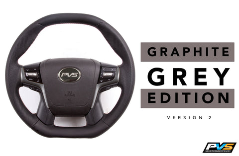 Graphite Grey 2020 Edition Steering Wheel suit Toyota LandCruiser 70 200