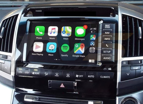 Car Play & GPS Android System Interface to suit Toyota LandCruiser 200 Sahara (2013-2015)