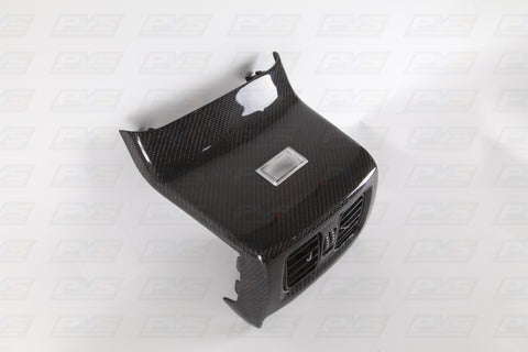 Carbon Fibre Rear AC Vents Console to suit Ford Falcon FPV FG/X