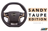 Sandy Taupe 2020 Edition Steering Wheel suit Toyota LandCruiser 70 200