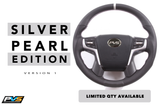 Silver Edition Leather Steering Wheel suit Toyota LandCruiser 70 200