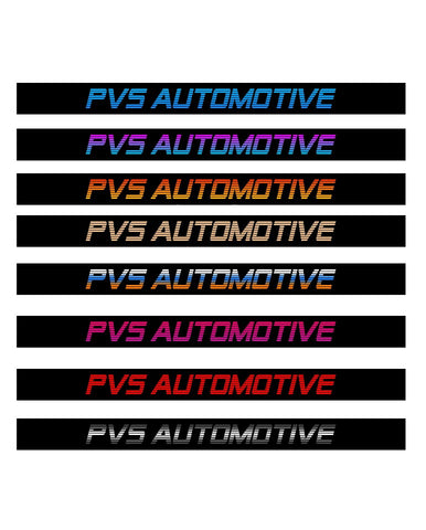 PVS AUTOMOTIVE Windshield Banner Sticker