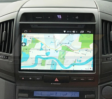 10 inch Multimedia Headunit to suit Toyota LandCruiser 200 (2007-2015)