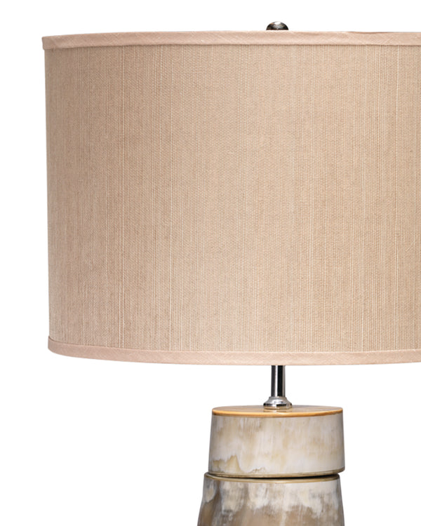 Stacked Horn Table Lamp