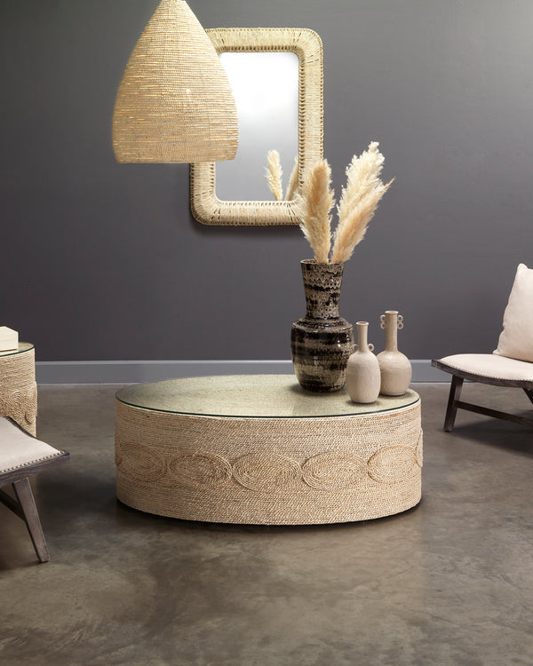 Barbados Oval Coffee Table