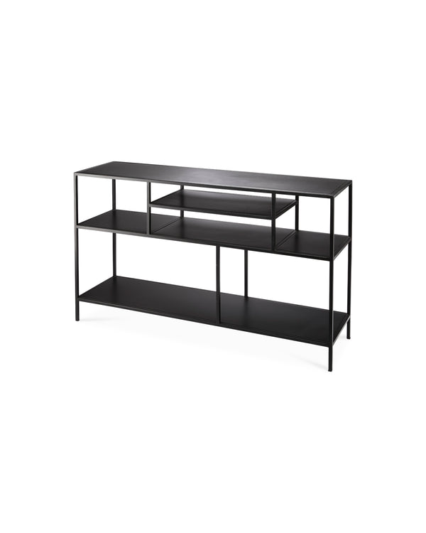 Element Shelved Console Table