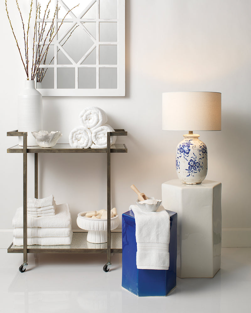 large, white | porto side table
