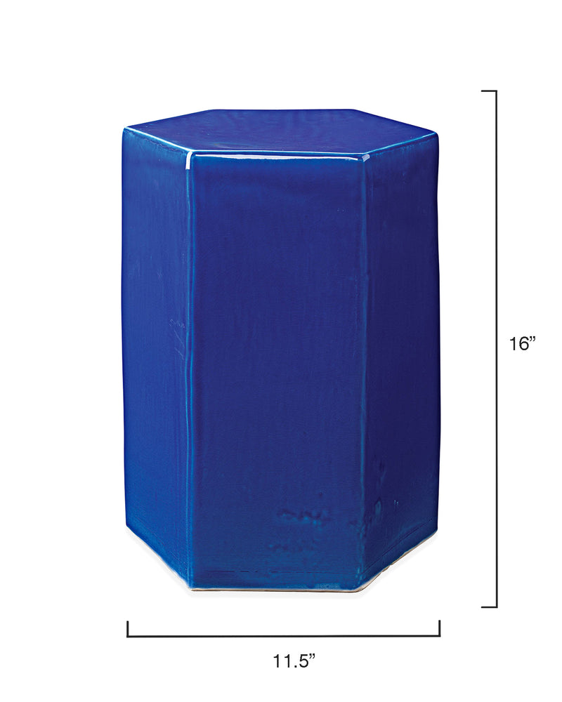 small, cobalt blue | porto side table
